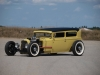 1931 Ford Model A Custom Sedan - Front/Side View
