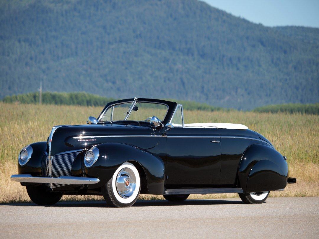 1940 Mercury Custom Convertible Adamco Motorsports
