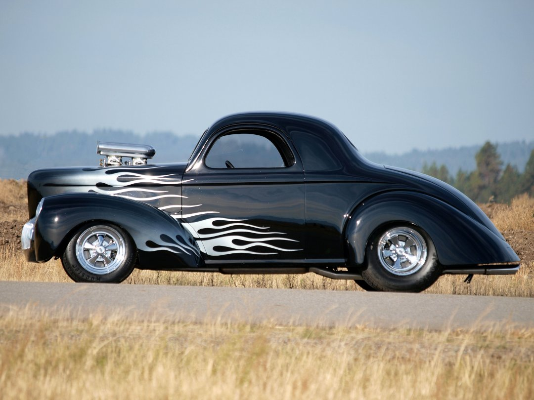 1941 Willys Coupe Adamco Motorsports