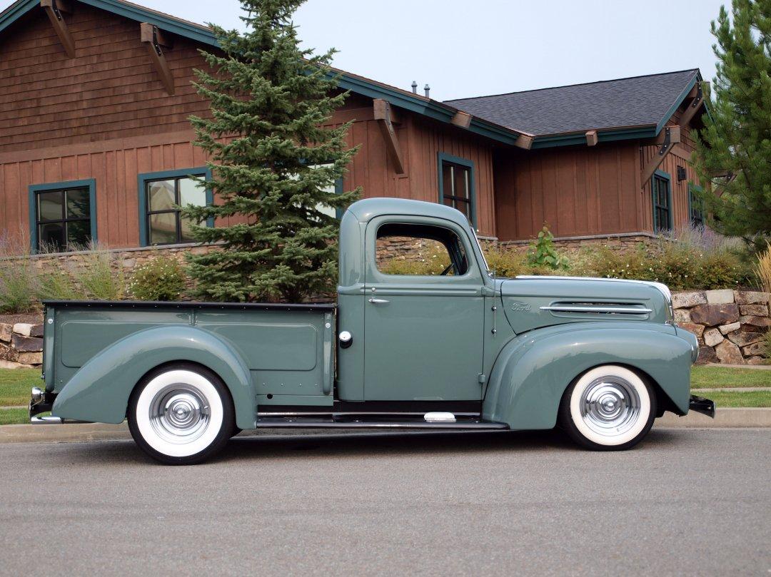 1946 Ford 1 2 Ton Custom Pickup Adamco Motorsports