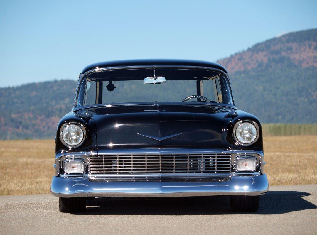 1956 chevrolet bel air custom 2 door post 161164 - 1956 Chevrolet Bel Air Custom 2 Door Post 161164 Filename Nomad5 Jpg