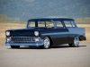 1956 Chevrolet Nomad Custom - Front/Side View