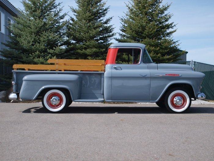 1957 Chevrolet Apache Pickup Adamco Motorsports