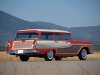 1958 Edsel 9 Passenger Wagon - Rear/Side View
