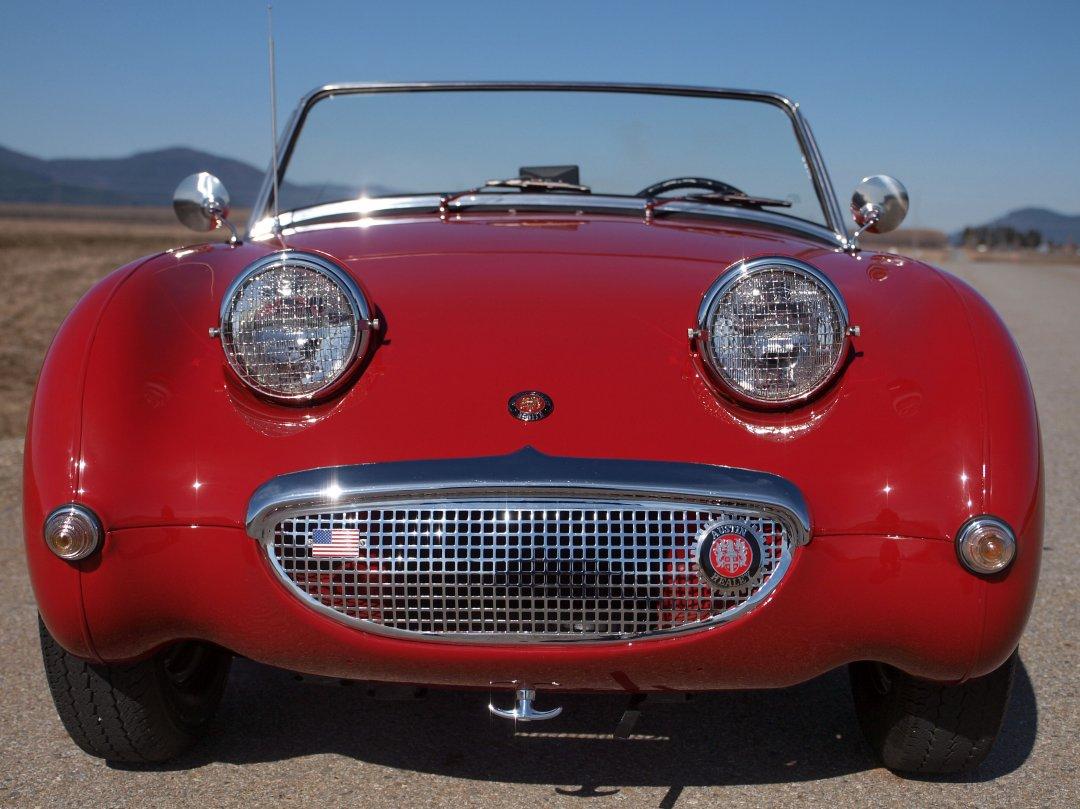 Car Windshield Cover >> 1960 Austin Healey Bug Eye Sprite - ADAMCO MOTORSPORTS