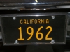 1962 Pontiac Catalina - License Plate View