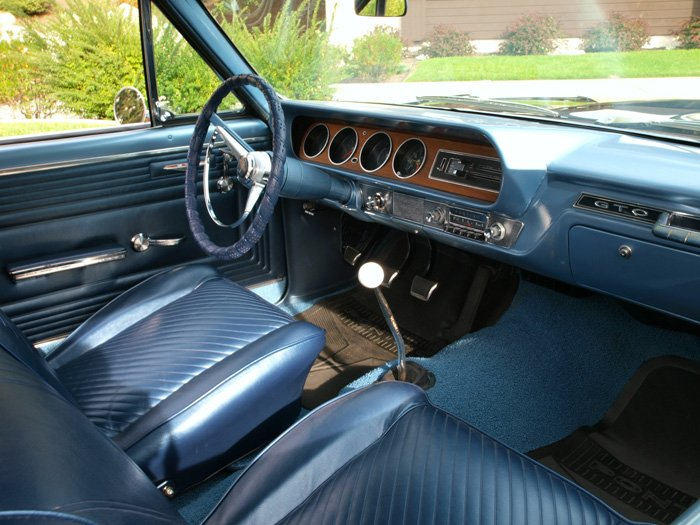 1965 Pontiac GTO   Interior View