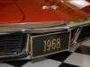 1968 Chevrolet Corvette L36 Convertible- License Plate View