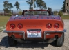 1968 Chevrolet Corvette L36 Convertible - Rear View