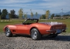 1968 Chevrolet Corvette L36 Convertible - Rear/Side View