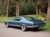 1968 Chevrolet Custom Chevelle - Rear/Side View