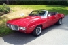 1969 Firebird Convertible - Front/Side View