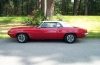 1969 Firebird Convertible - Side View w/Top