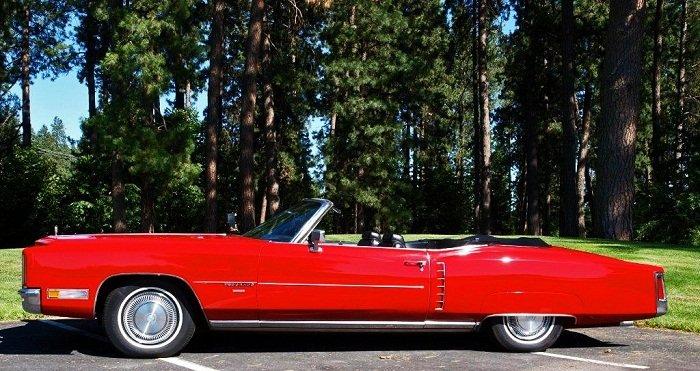 1971 Cadillac Eldorado Convertible Adamco Motorsports