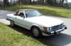 1986 Mercedes Benz 560 SL - Front/Side View