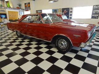 1967 Plymouth GTX - Front/Side View