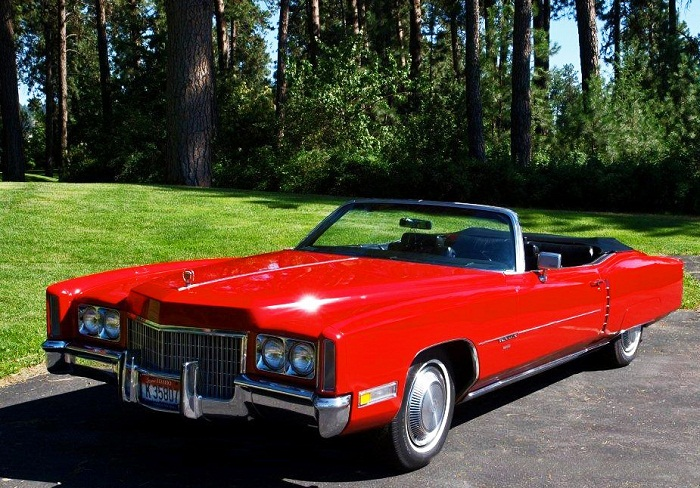 1971 Cadillac Eldorado Convertible - Front/Side View - ADAMCO ...