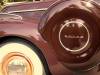 1939 Buick Century Sport Phaeton Model 61-C - Wheel/Spare Tire View