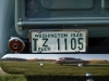1946 Ford 1/2 Ton Custom Pickup - License Plate View