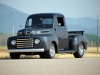 1950 Custom Ford F1 Pickup - Front/Side View