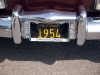 1954 Chrysler New Yorker Town & Country Wagon - License Plate View