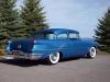 1956 Oldsmobile 88 Custom 2 Door Sedan - Rear/Side View