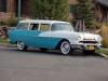1956 Pontiac Wagon - Front/Side View