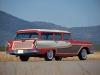 1958 Edsel 9 Passenger Wagon - Rear/Side View