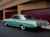 1962 Custom Chevrolet Impala - Back/Side View