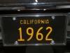 1962 Pontiac Catalina - License Plate View