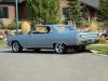 1964 Chevrolet Chevelle Malibu - Side/Rear View
