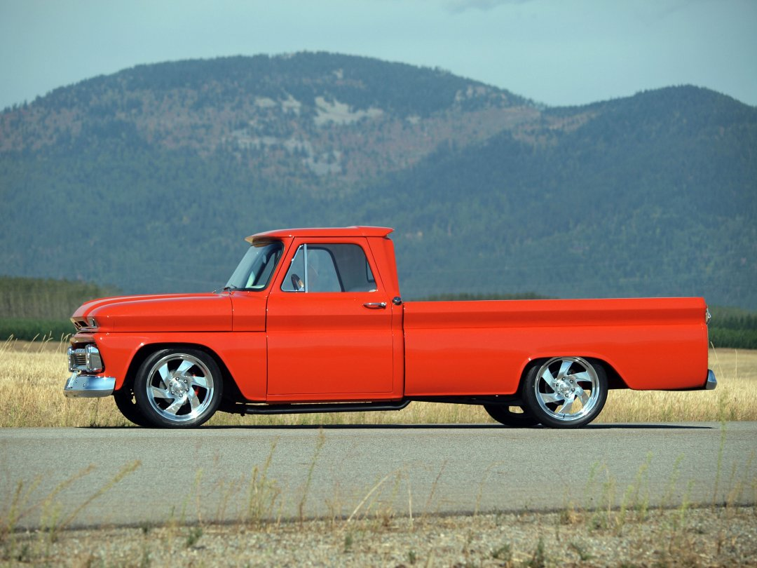 1966 Chevrolet C10 Pickup Adamco Motorsports Chevy Trucks For Sale Side View