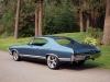 1968 Chevrolet Custom Chevelle - Rear/Side View
