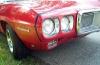 1969 Firebird Convertible - Front/Side View