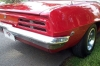 1969 Firebird Convertible - Back/Side View