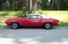 1969 Firebird Convertible - Side View w/Top