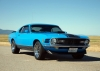 1970 Mustang Mach 1 Fastback - Side/Front View