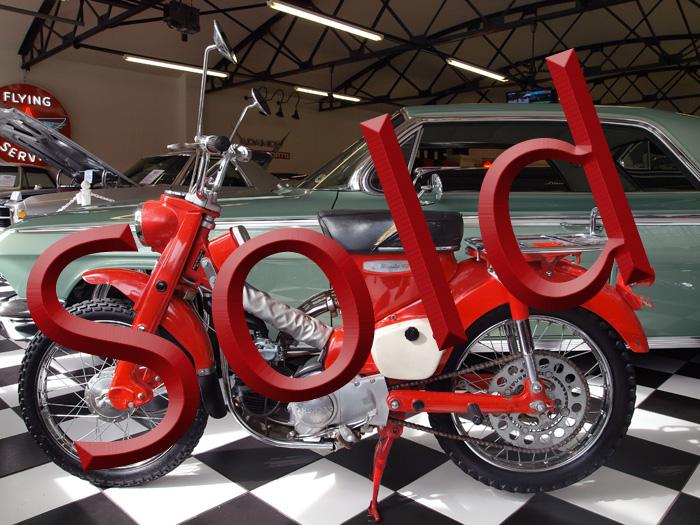 1965 Honda 90 Model CT 200