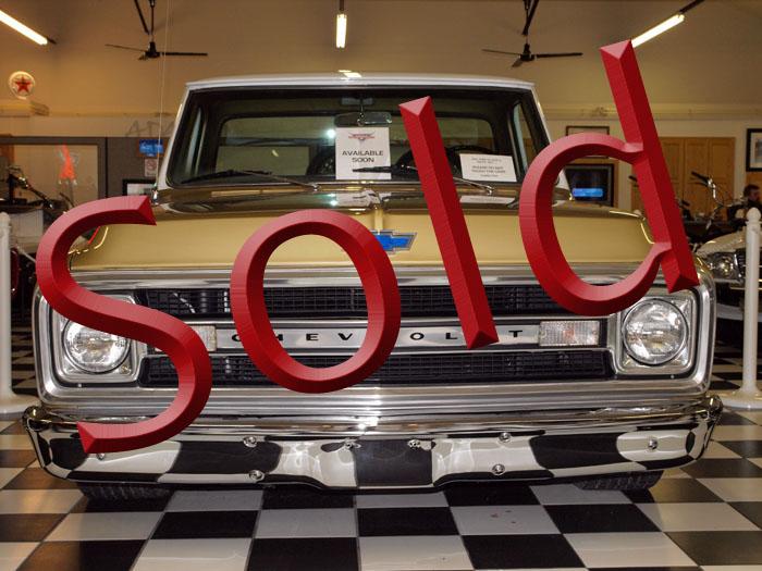 1970 Chevrolet Custom 10 Pickup