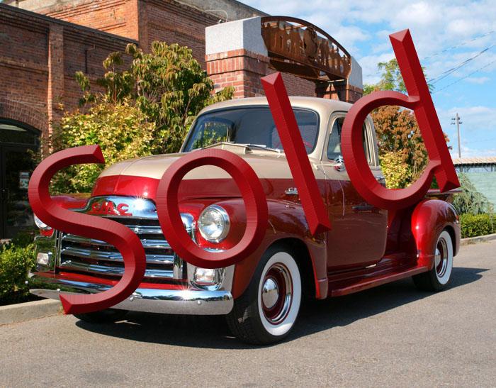 1954 Custom GMC 100 Pickup