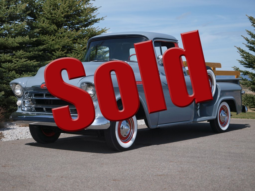 1957 Chevrolet Apache Pickup Adamco Motorsports Chevy Truck For Sale